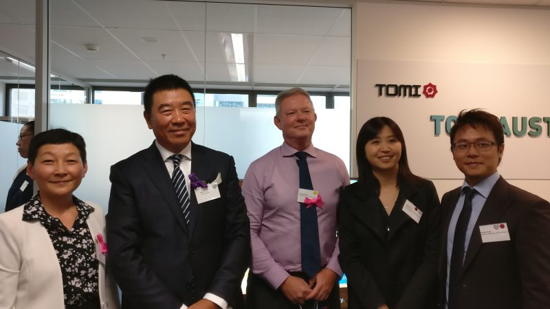 TOMI International Co Ltd opening in Brisbane